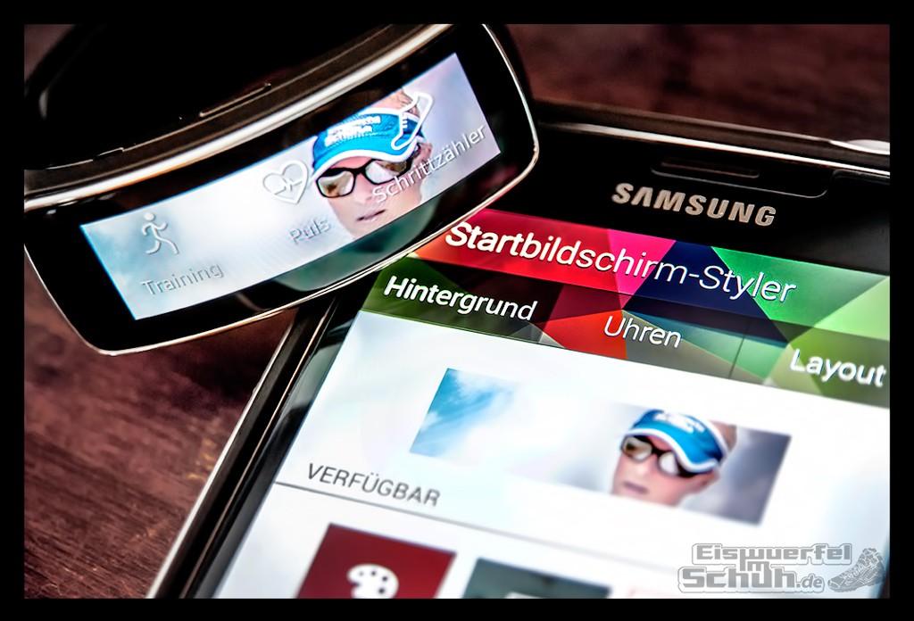 Schlanker & schicker Fitness Tracker: das Samsung Gear Fit (Test)