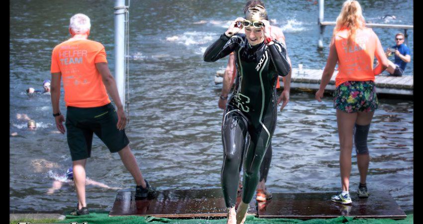 Berlin Triathlon: Olympische Distanz mit Wasserflugzeug, Windschattenfahren und Bestzeit – Teil I