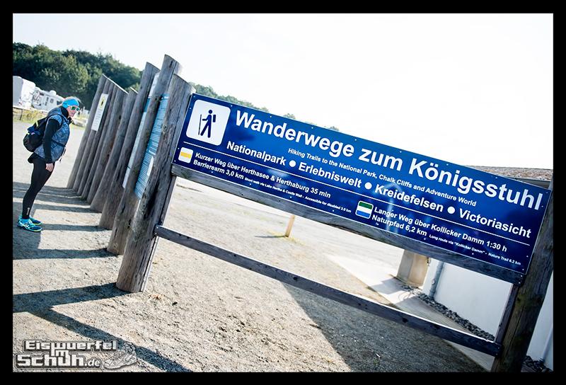 EISWUERFELISCHUH – Ruegen Koenigsstuhl Wald Küste Nationalpark Laufgeschichte (1)