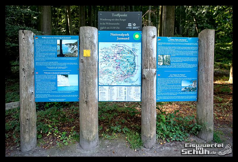 EISWUERFELISCHUH – Ruegen Koenigsstuhl Wald Küste Nationalpark Laufgeschichte (21)