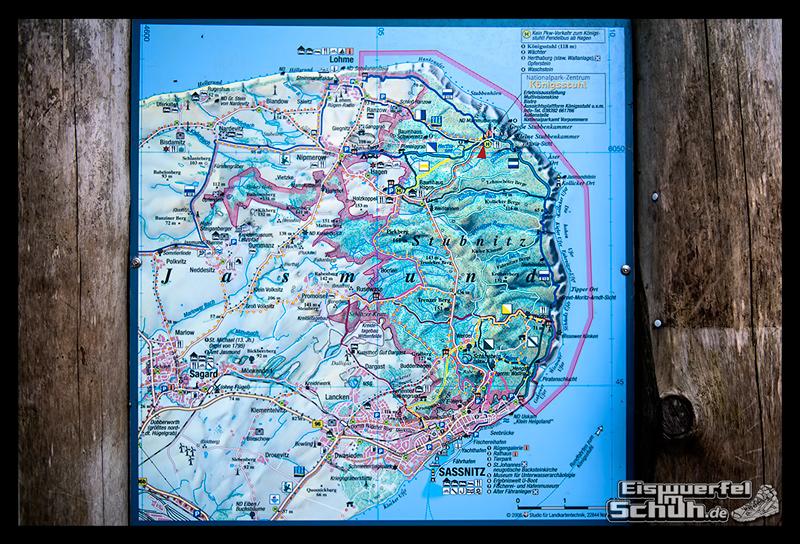 EISWUERFELISCHUH – Ruegen Koenigsstuhl Wald Küste Nationalpark Laufgeschichte (22)