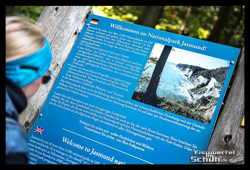 EISWUERFELISCHUH – Ruegen Koenigsstuhl Wald Küste Nationalpark Laufgeschichte (23)