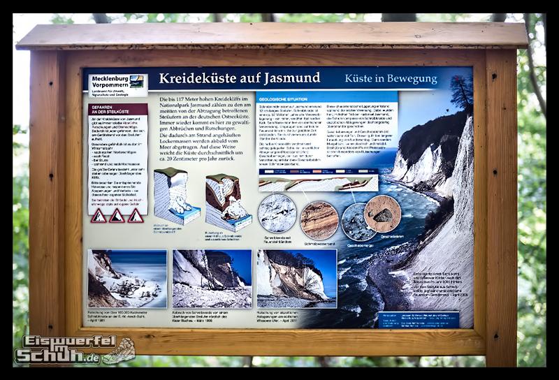EISWUERFELISCHUH – Ruegen Koenigsstuhl Wald Küste Nationalpark Laufgeschichte (24)