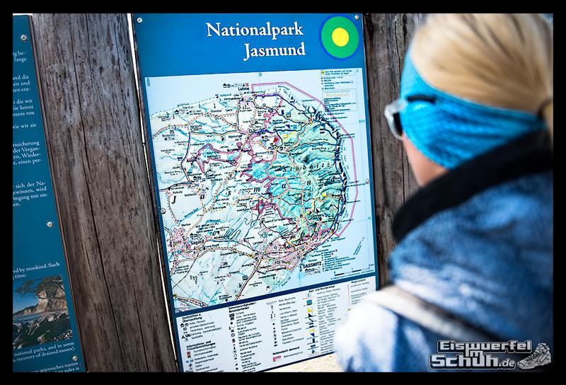 EISWUERFELISCHUH – Ruegen Koenigsstuhl Wald Küste Nationalpark Laufgeschichte (3)