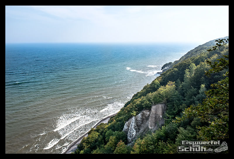 EISWUERFELISCHUH – Ruegen Koenigsstuhl Wald Küste Nationalpark Laufgeschichte (32)