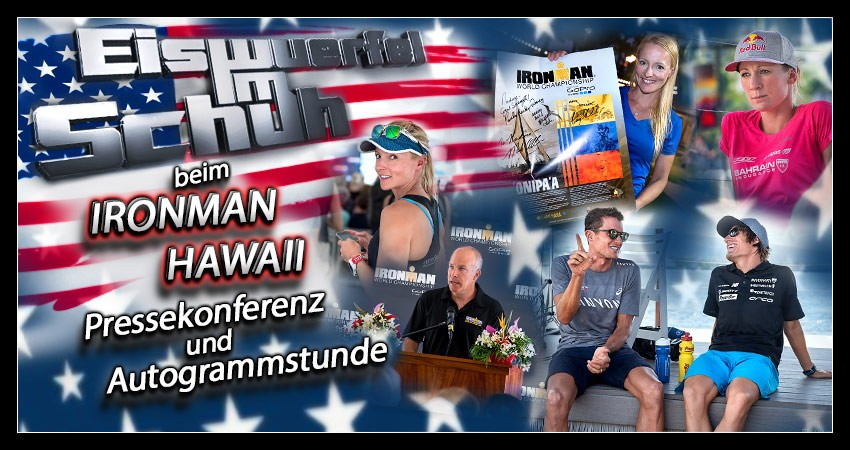 Hawaii - Big Island: Ironman großes Athletentreffen & Pressekonferenz