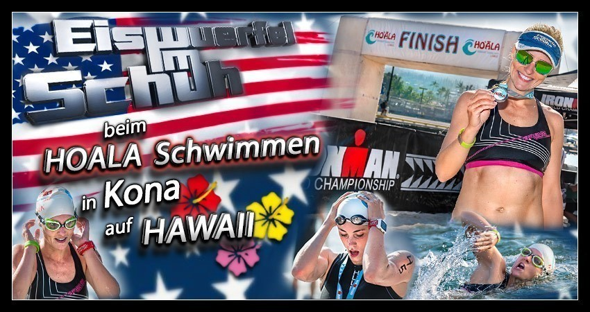 Hoala Swim Ironman Hawaii Kona Banner Collage