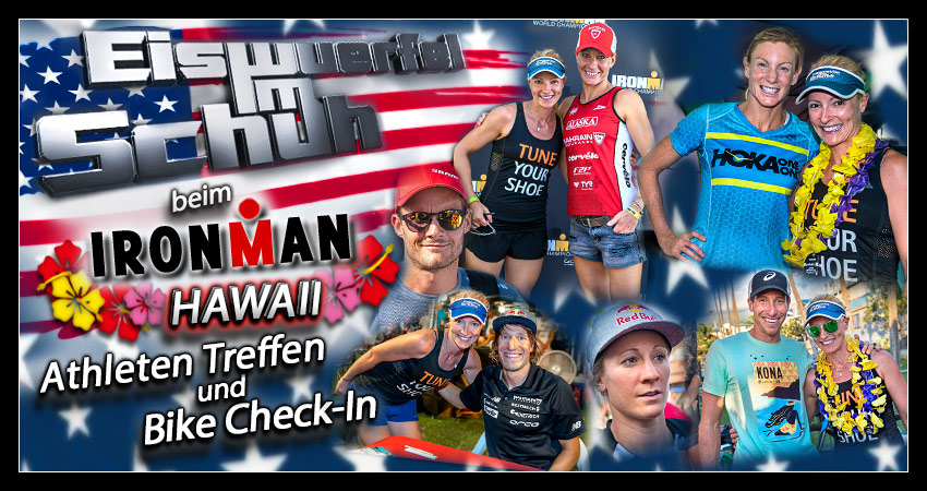 Ironman Hawaii Weltmeisterschaft Expo Bike CheckIn