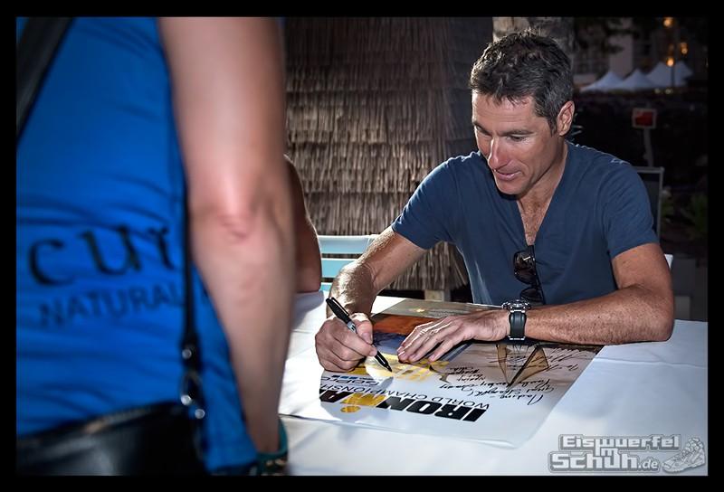 EISWUERFELIMSCHUH – Athletentreffen Autogramme Helden von Hawaii Ironman 2015 14