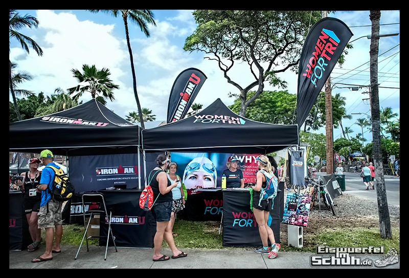 EISWUERFELIMSCHUH – Hawaii Big Island IRONMAN Messe Woman For Tri (1)