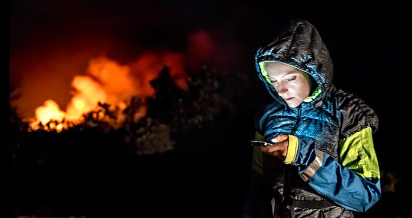 Hawaii – Big Island: der brodelnde Kīlauea Vulkan bei Nacht