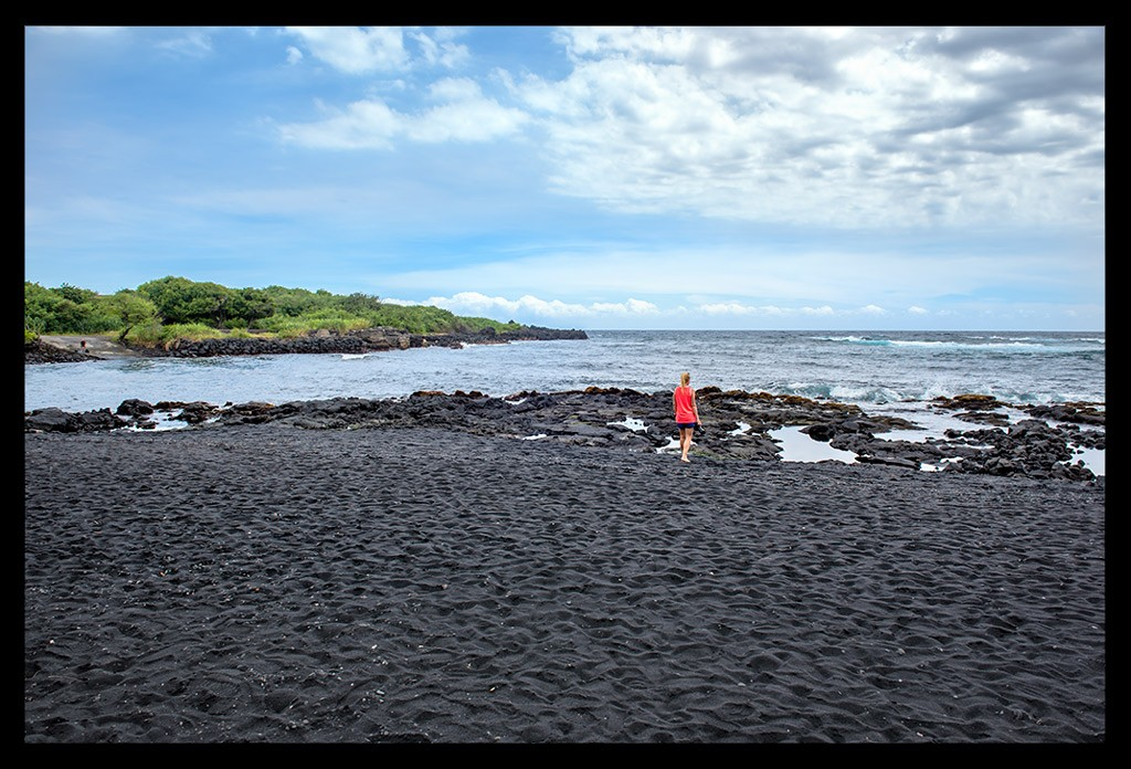 Punaluu Black Sand Beach Travelblog
