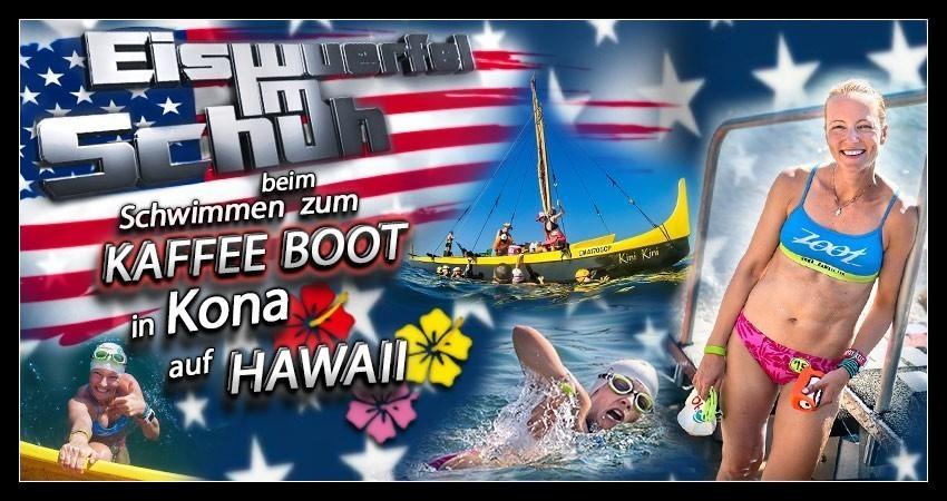 Ironman Coffee Boat Kona Hawaii Triathlon Training Travel Blog Banner Collage