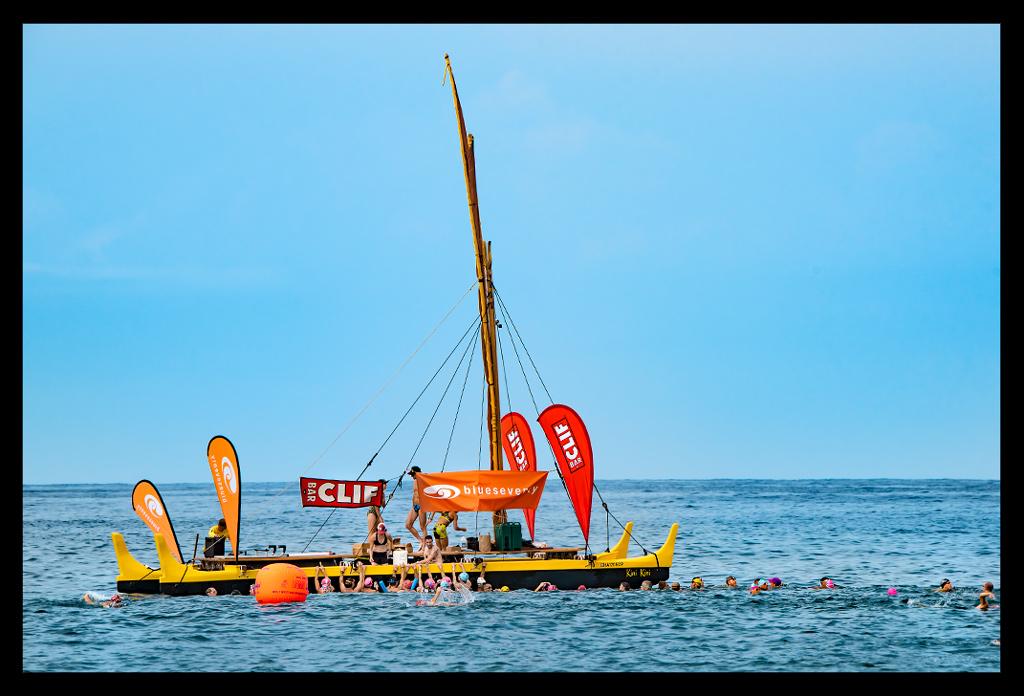 Clif Baar Ironman Coffee Boat Kona Hawaii Triathlon Training Travel Blog