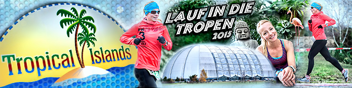 EISWUERFELIMSCHUH - Lauf Tropen Tropical Islands 2015 Banner Header
