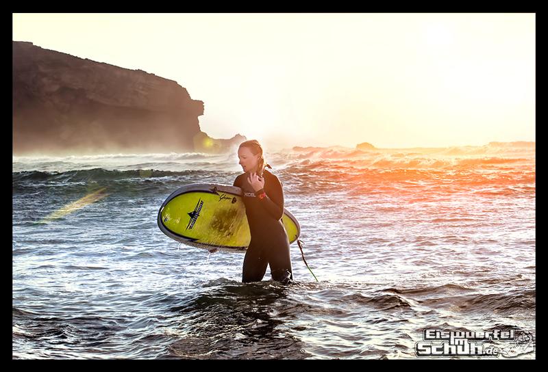 EISWUERFELIMSCHUH - Surfen Ocean Sunset