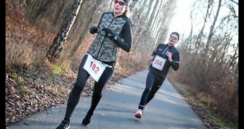 Silvesterlauf im Plänterwald der Neuköllner Sportfreunde