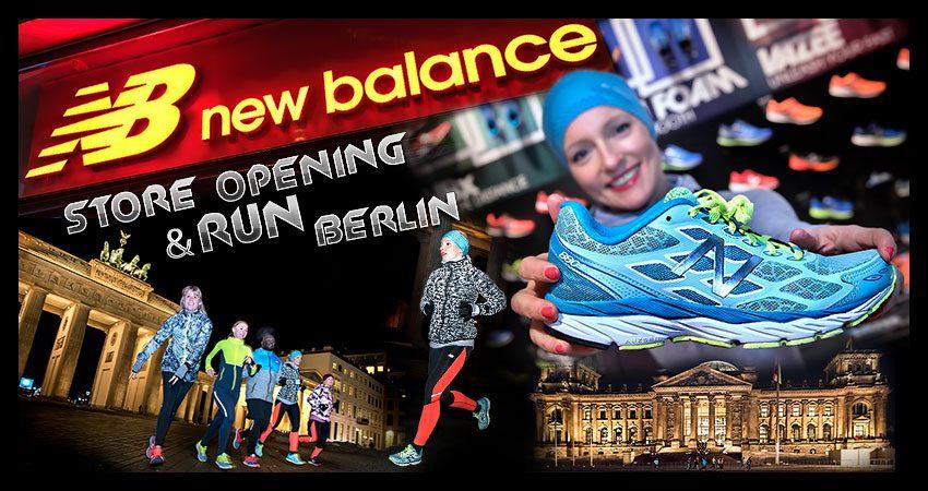 New Balance Flagship Store Eröffnung mit Abendlauf in Berlin Mitte