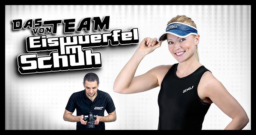 EISWUERFELIMSCHUH - Team Fotografie Sportfotograf Triathlon Training