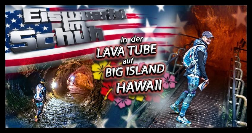 Reiseblog Collage Hawaii Big Island Lava Tube