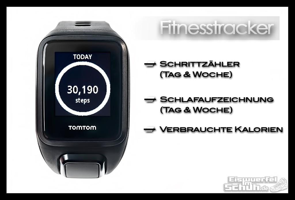 EISWUERFELIMSCHUH - TomTom Spark Cardio Multisport Laufen Fitnesstracker Herzfrequenz GPS Test Review (26)