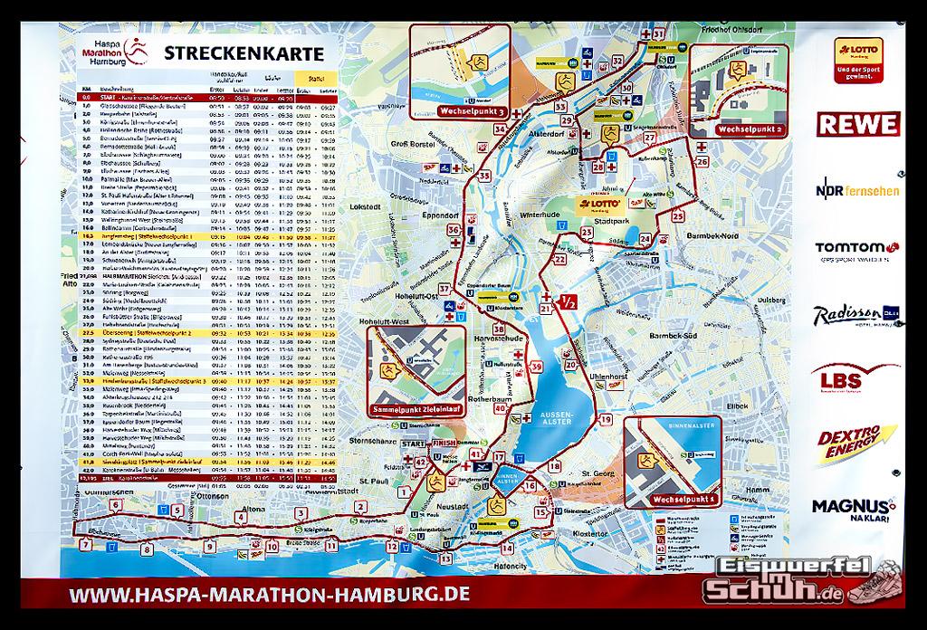 EISWUERFELIMSCHUH – Hamburg Marathon Laufen Haspa Mizuno Messe (2)