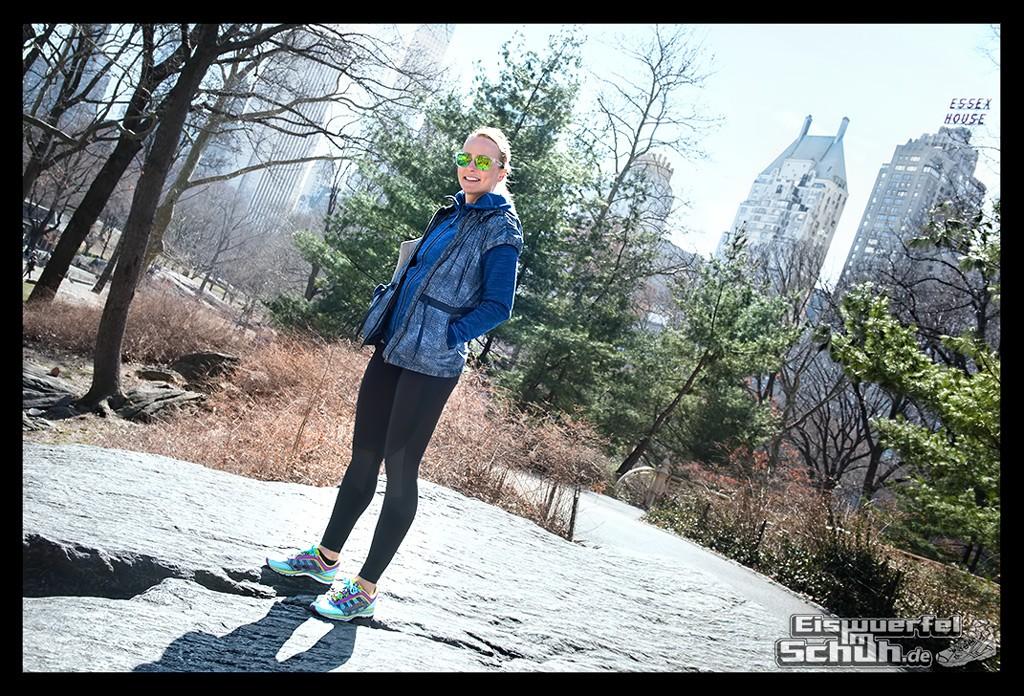 EISWUERFELIMSCHUH – Laufen Im Central Park Von New York (2)
