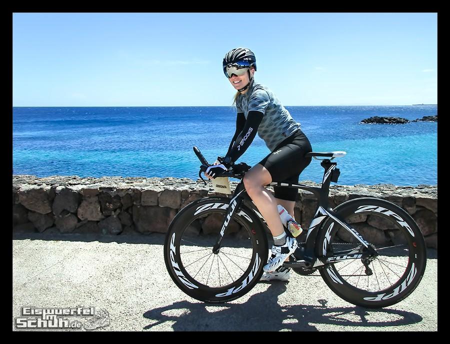 EISWUERFELIMSCHUH – Radgeschichten Lanzarote Triathlon Training 004