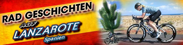 EISWUERFELIMSCHUH - Radgeschichten Lanzarote Triathlon Training Banner Header 01