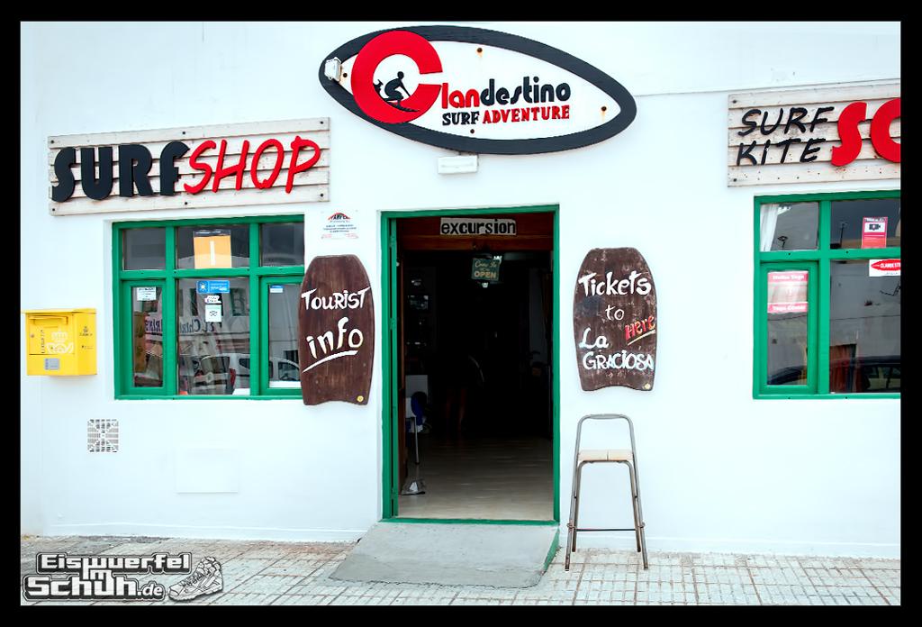 EISWUERFELIMSCHUH – Surfgeschichten Lanzarote Famara Surfen Kite I (2)