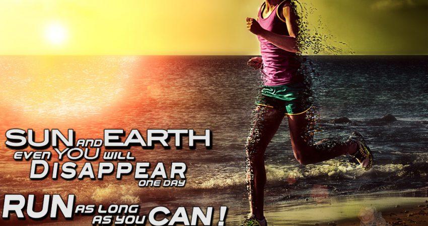 Laufe so lange du kannst – oder – Meine Motivationsanleitung