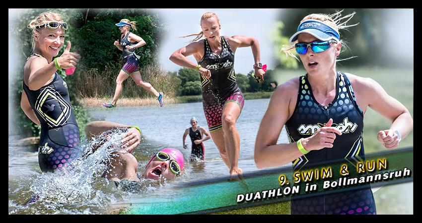 2. Platz beim Swim & Run Duathlon in Bollmannsruh
