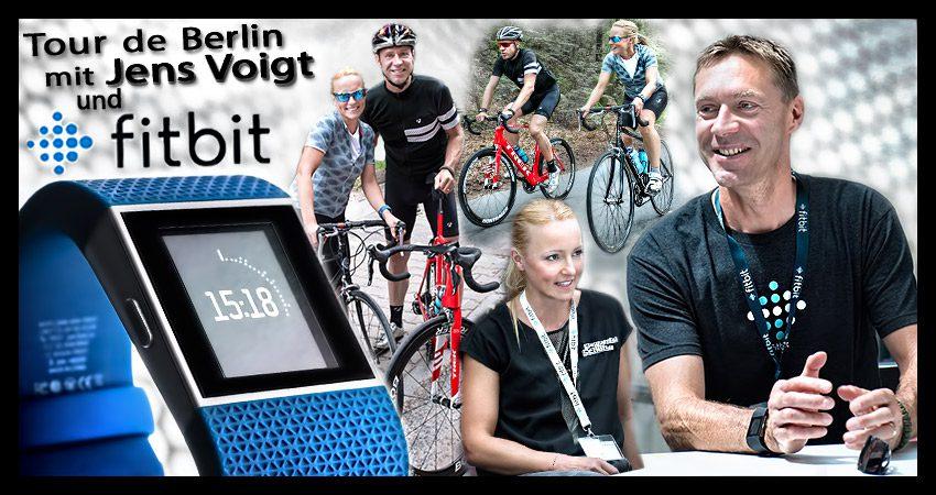 Radausfahrt mit Jens Voigt und der Fitbit Surge