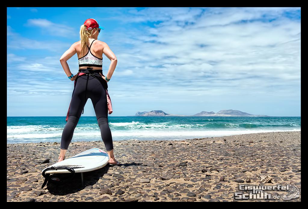 EISWUERFELIMSCHUH - Surfgeschichten Lanzarote Famara Surfen II (1)
