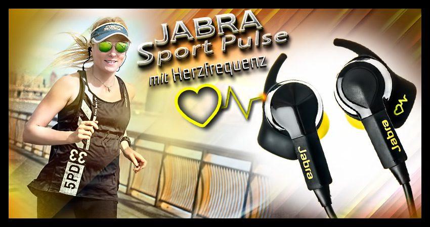 Jabra Sport Pulse: kabellose In-Ear-Kopfhörer mit Herzfrequenzsensor (Test)