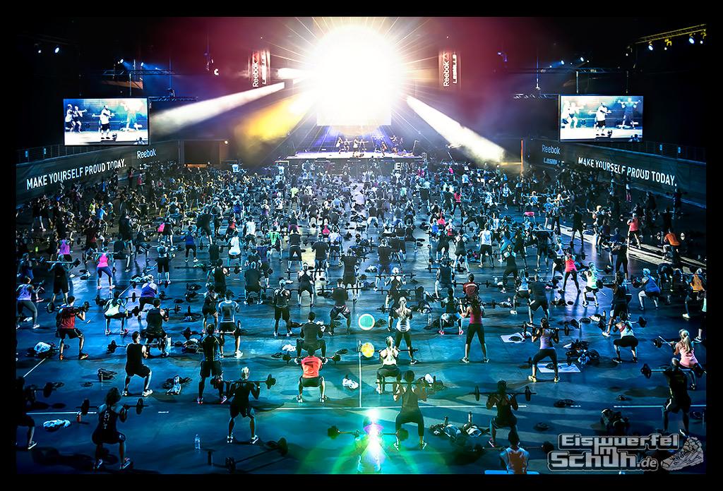 EISWUERFELIMSCHUH - REEBOK LesMills BERLIN Fitness Training 2015 (2)