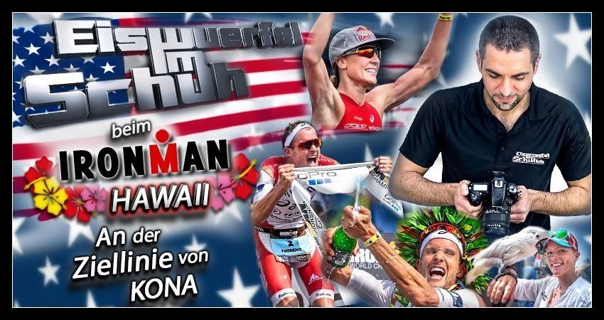 Ironman World Championships Kona Blogger Triathlon Banner Collage