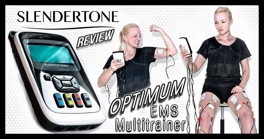 Der Slendertone Optimum im Test (EMS-/TENS-Multitrainer)