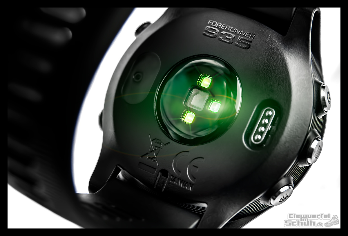 Garmin Forerunner 935 integrierter optischer Elevate Herzfrequenzsensor