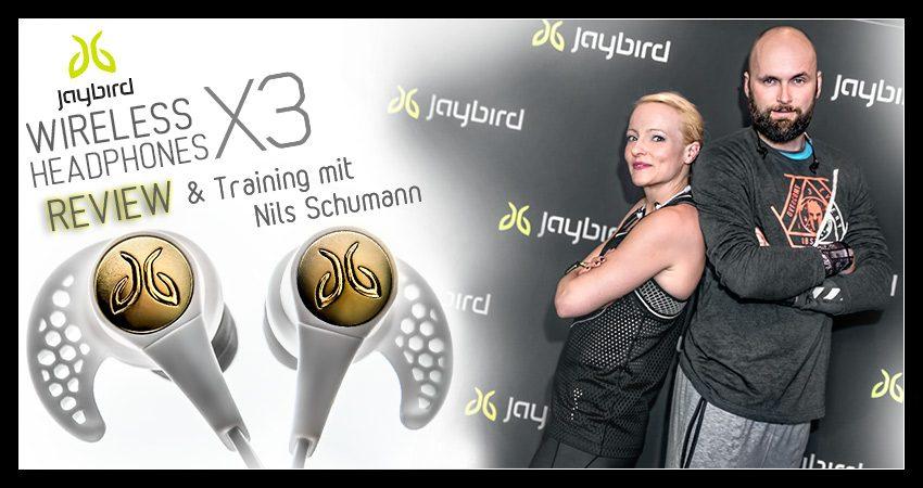 Jaybird X3 – Kabellose In-Ear-Kopfhörer (Test)