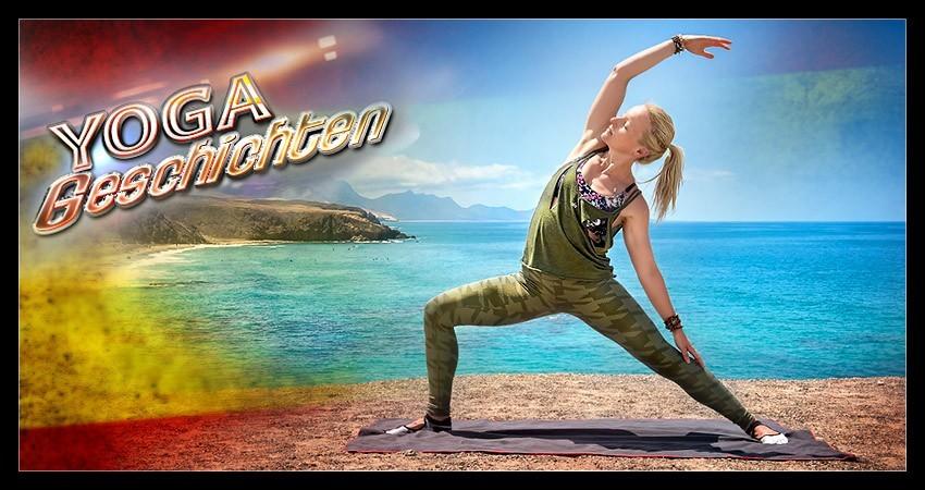 Yogageschichten: mit Yoga Leichtigkeit, Freiheit, Weite erfahren
