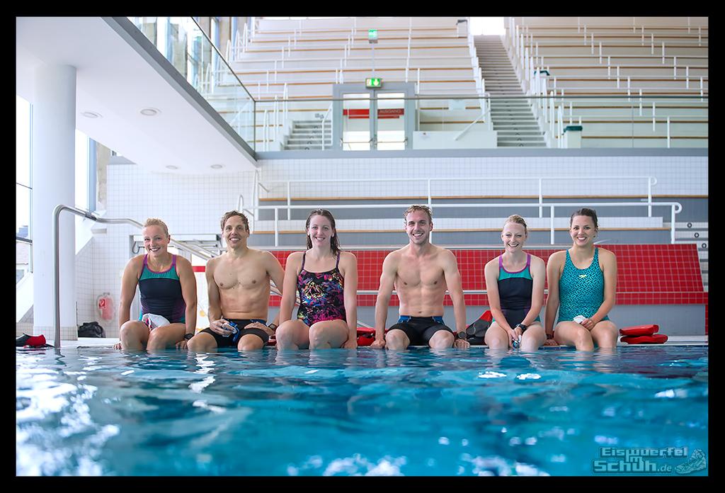 Triathlon-Training Schwimmtechnik