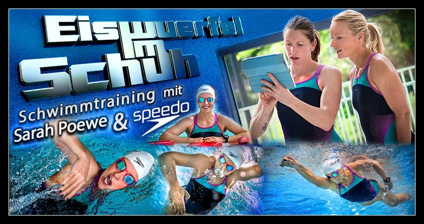 Triathlon-Training: Schwimmtechnik mit Olympionikin Sarah Poewe verbessern