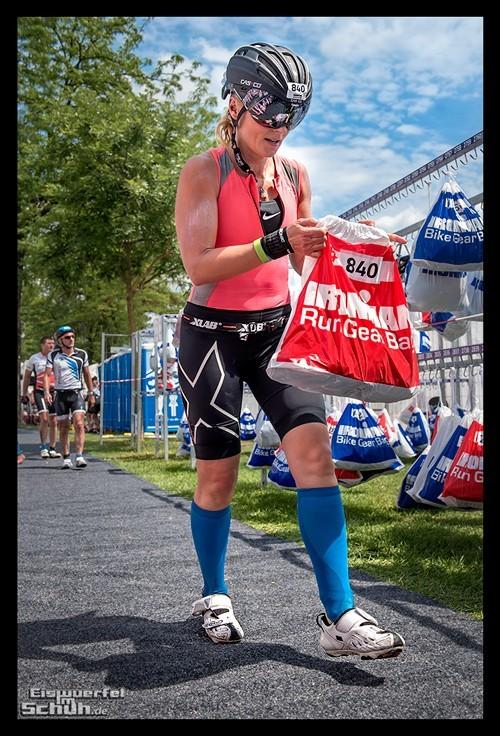 Ironman Frankfurt Wechselzone Römer