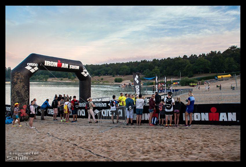 Ironman Frankfurt: Bike Check-In & Schwimmen - Teil I