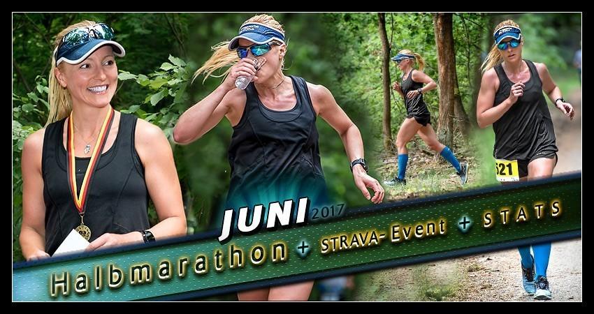 Training Juni 2017: Gefühlschaos & Halbmarathon-Sieg