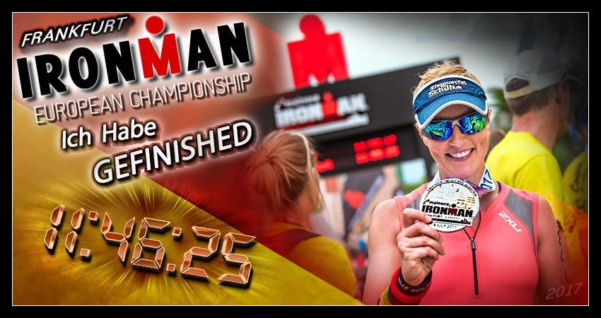 Ironman Frankfurt: Ich wollte diese Medaille, ich habe diese Medaille!