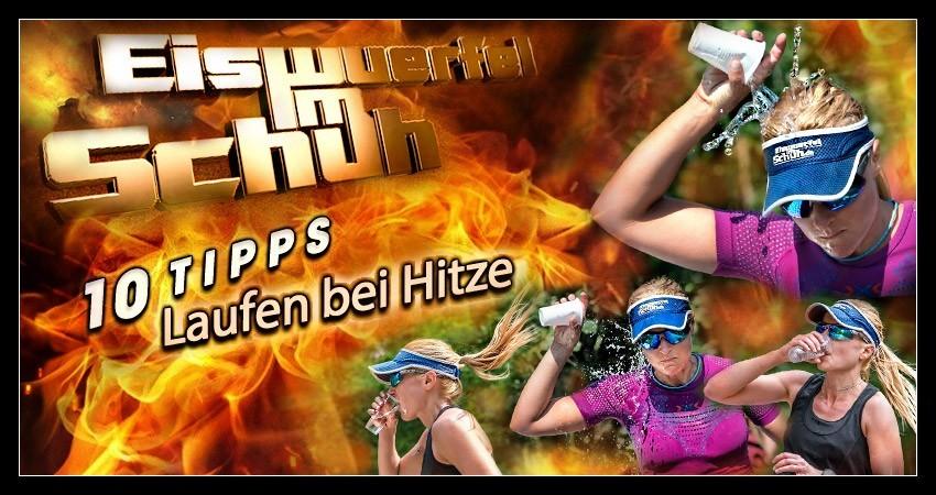 Sommer Hitze Sport Laufen Training