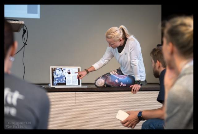 Fitness Blogger Konferenz FiBloKo Media Kit Nadin Eiswuerfel Im Schuh Workshop