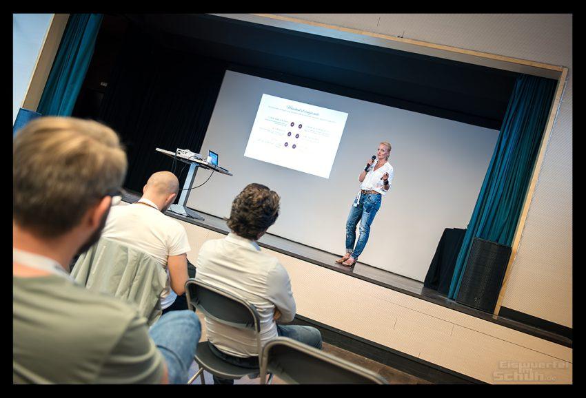 Sport Bloggerin und Triathletin Nadin von Eiswuerfel Im Schuh über Zeitmanagement
